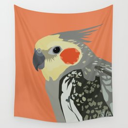 Marcus the cockatiel Wall Tapestry