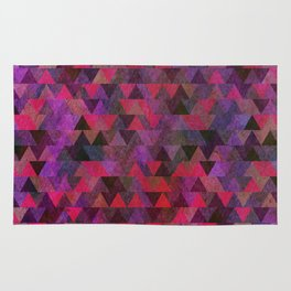 Geometric Pattern X Rug