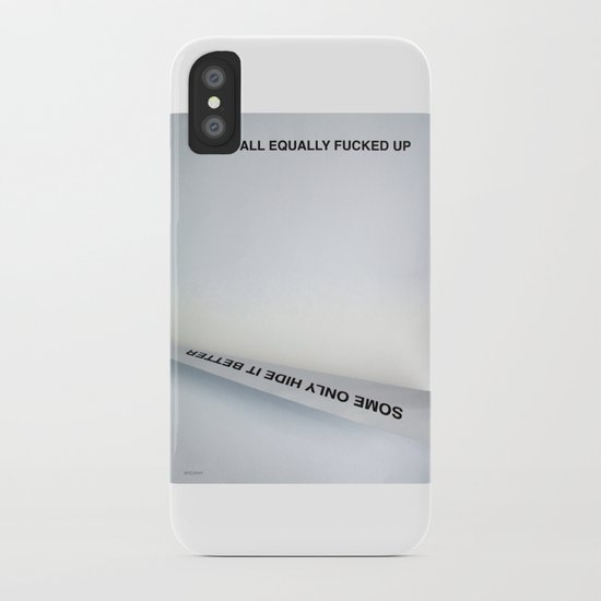 Equally (Take Two) iPhone Case