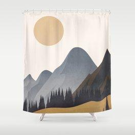 Minimalistic Landscape VI Shower Curtain