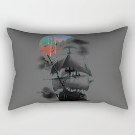 Journey to the Outworld Rectangular Pillow