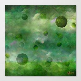 Aquatic Forest (Aquatic Creature) Canvas Print