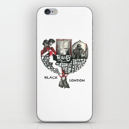 Black London_A Darker Shade of Magic iPhone Skin