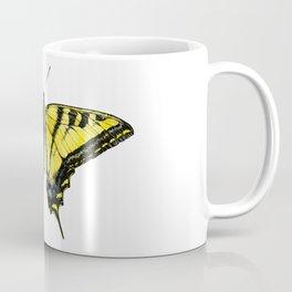 Western Tiger Swallowtail Butterfly Coffee Mug