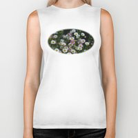 daisies Biker Tanks featuring Daisies by Wealie