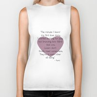 lovers Biker Tanks featuring Lovers by Zen and Chic