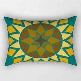 Native Sunflower Rectangular Pillow