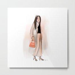 Fashion Sketch no 12 Metal Print