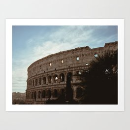 Daybreak in Rome Art Print
