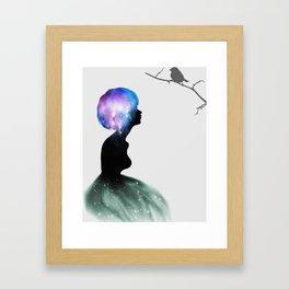 Piece of Celestial Mind Framed Art Print