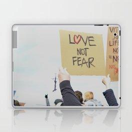 Love Not Fear Laptop & iPad Skin