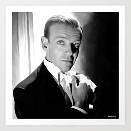 Fred Astaire Portrait Art Print