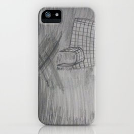 """Igloo"" Fine Art Pencil Drawing iPhone Case"
