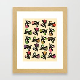 Foglie Sparse Framed Art Print