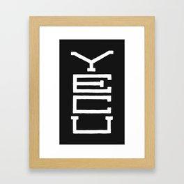 Yecu Framed Art Print