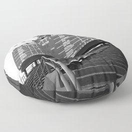 Wrigley Field Floor Pillow