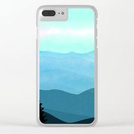The Great Smoky Mountains Clear iPhone Case