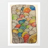 shrek Art Prints featuring Bleep by Kerri Boccard