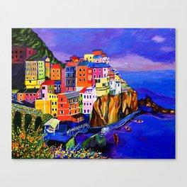 Manarola Cinque Terre Canvas Print