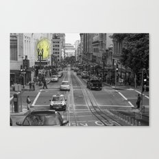 Unseen Monsters of San Francisco - Chubby Widsets Canvas Print