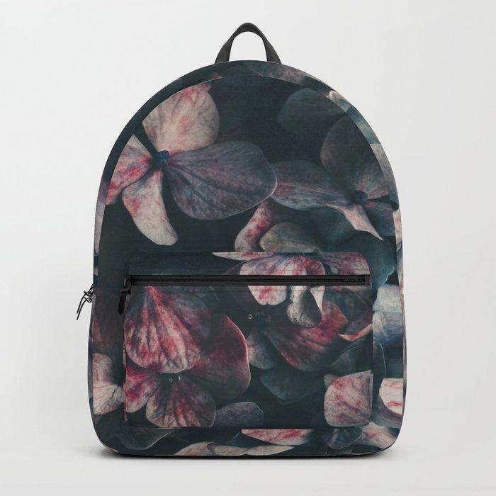 hydrangea - moody blues Backpack