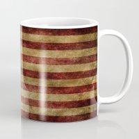 america Mugs featuring America by AliciaMarie