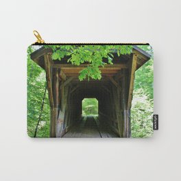 In And Out Of Bridge Carry-All Pouch