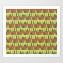 Bright Trees Art Print