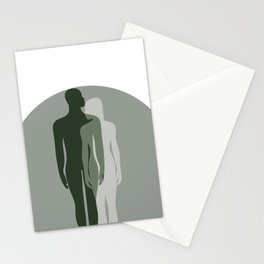 Mimetic Woman and Man  Stationery Cards