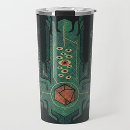 The Crown of Cthulhu Travel Mug