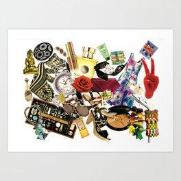 Shopaholic 1 Art Print