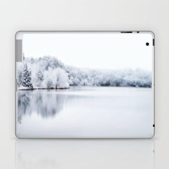White Wonder Reflection Laptop & iPad Skin