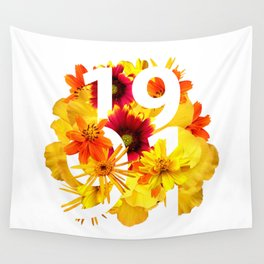 Flower 1991 Wall Tapestry