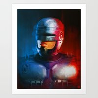 cyclops Art Prints featuring CYCLOPS by John Aslarona