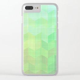 15H3 Tri Grid Clear iPhone Case