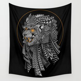 Barbarian Lion Wall Tapestry