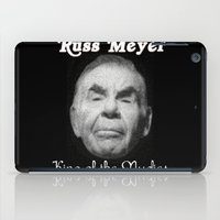 kevin russ iPad Cases featuring Russ Meyer Tribute Poster by Holland