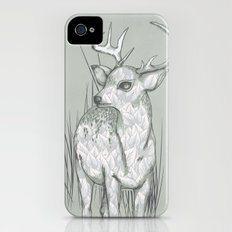 White-Tailed  Slim Case iPhone (4, 4s)