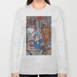 Vintage poster - Circus #2 Long Sleeve T-shirt