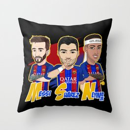 El tridente Throw Pillow