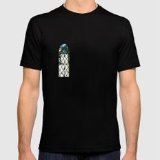 Neuschwanstein - Germany MEDIUM Black Mens Fitted Tee