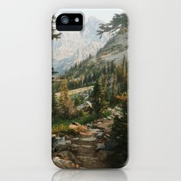 Teton Crest Trail iPhone Case