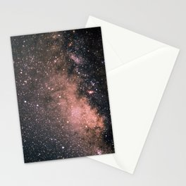 Halley's Comet and the Milky Way Stationery Cards