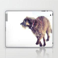 Snowy Puppy Laptop & iPad Skin