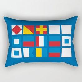 NAUTICAL FOR PETE'S SAKE Rectangular Pillow