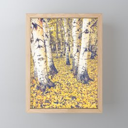 Golden Floor Framed Mini Art Print