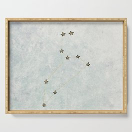 Leo x Astrology x Star Sign Serving Tray