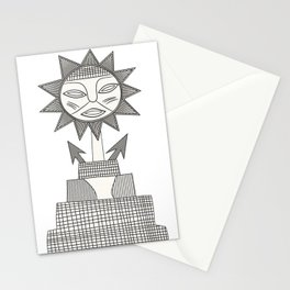 God of Sun Stationery Cards