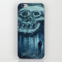 depression iPhone & iPod Skins featuring depression by Dirk Wuestenhagen Imagery