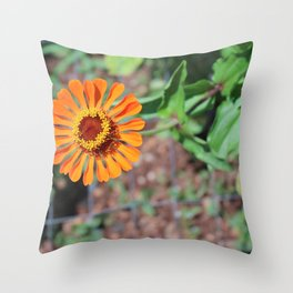 Flower No 5 Throw Pillow